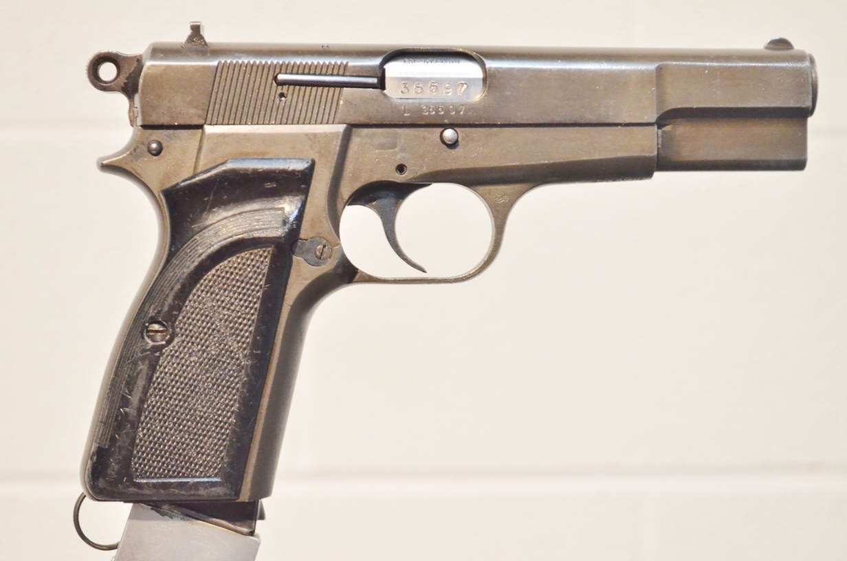 FN Browning Hi Power 9mm Surplus MK-II # L35597